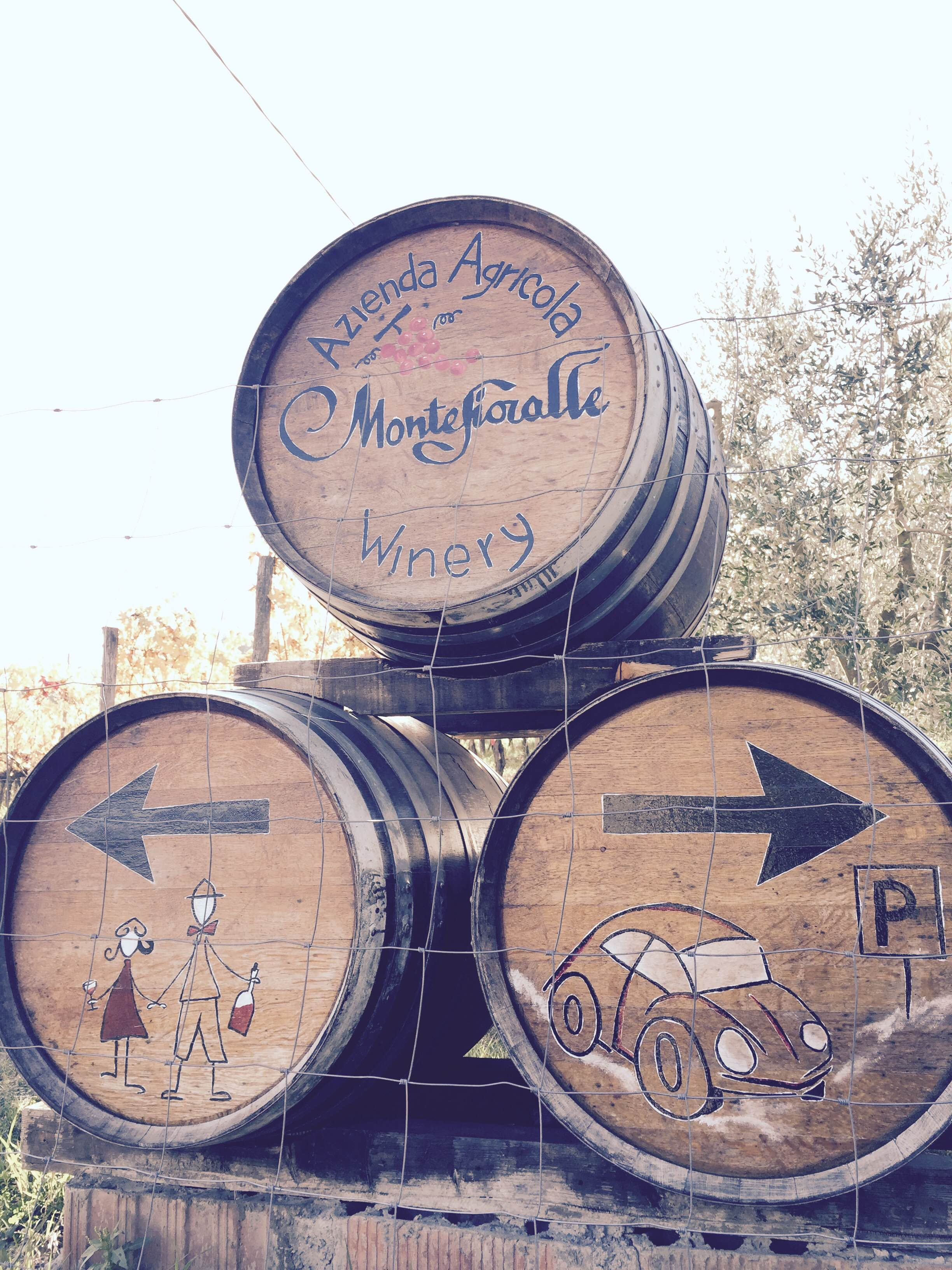 Barrels - Montefioralle vinery