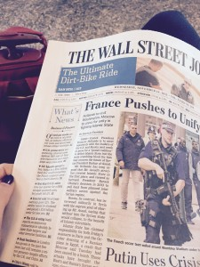 The Wall Street Journal about France answer