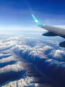 Over the Dolomites