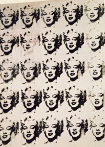 The 25 Marilyns by Andy Wahrol - 1962