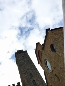Dome, Churches and towers of San Gimignano, near Siena