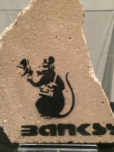 the Rat by Banksy