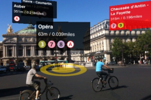 Augmented Reality in the surrounding