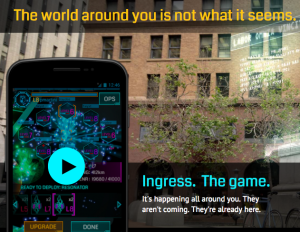 Ingress - Augmented reality