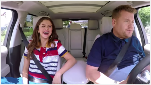 Selena Gomez and James Corden - Carpool Karaoke