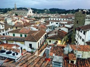Florence view: Santa Croce