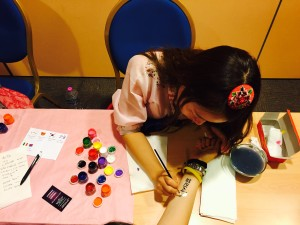 Korean writing and arts at Korean Festival in Florence