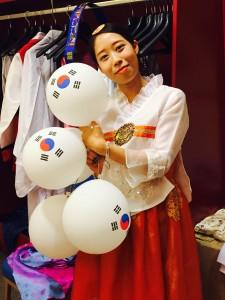 Korean girl 🍥