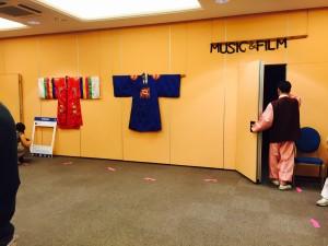 Korean writing and arts at Korean Festival in Florence
