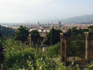 Florence from the top - San Miniato
