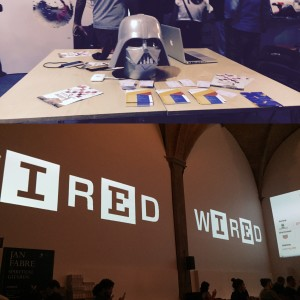 Wired event in Sala D'arme- Palazzo Vecchio