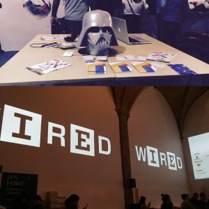 Wired event in Sala D'arme- Palazzo Vecchio