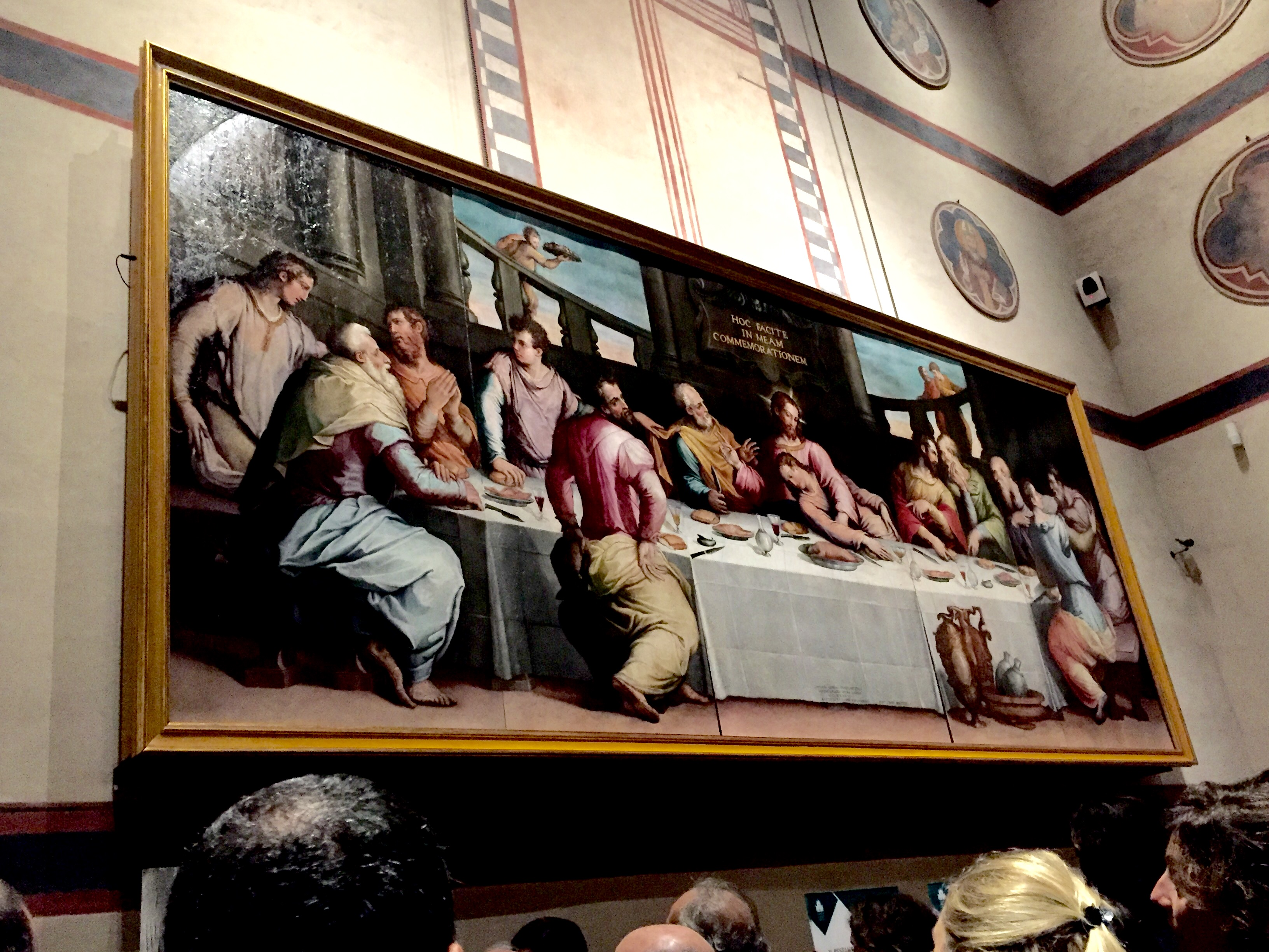 The last supper by Vasari unveiled: one night at the Opera of Santa Croce