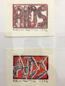 Mail art, postcards by Prof. Bad Trip