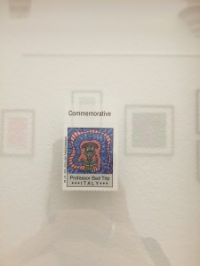 A commemorative stamp for Prof. Bad Trip