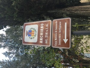 Trip to Anchiano, birthplace of Leonardo
